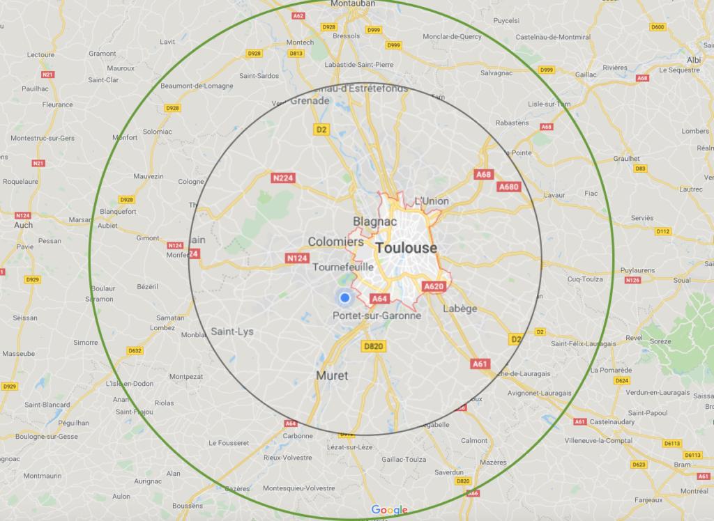 SARL Julien Cavalerie : Notre périmètre d'intervention